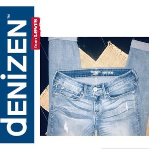 Denizen by Levis Distressed Boyfriend Jeans